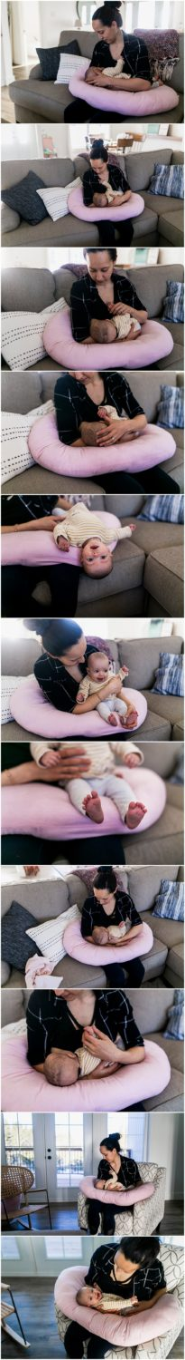 Luna Baby Pillow Family Photographer