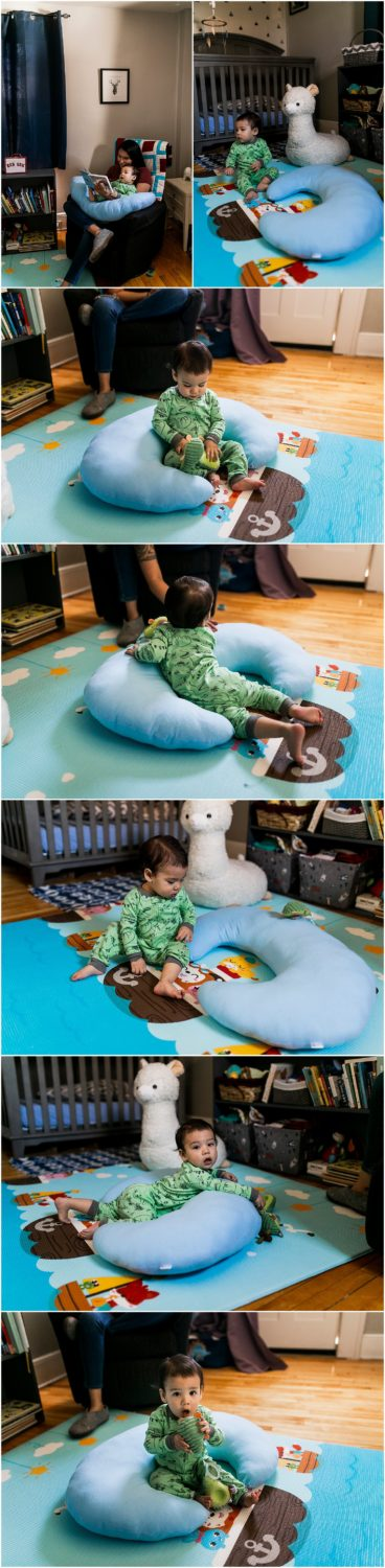 Playing with Luna Pillow